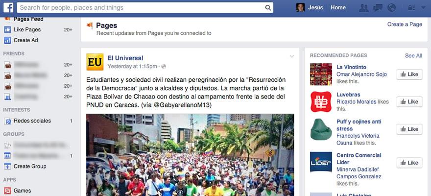 News Feed Facebook: ¿Qué cambió?
