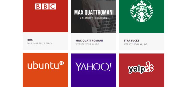7 Guías de estilo de marcas para inspirar tu diseño