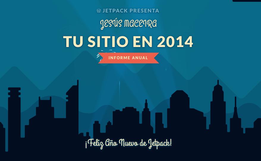 Los 5 artículos más visitados en 2014 según Jetpack