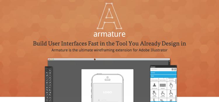 Armature: herramienta de Illustrator para hacer Wireframes