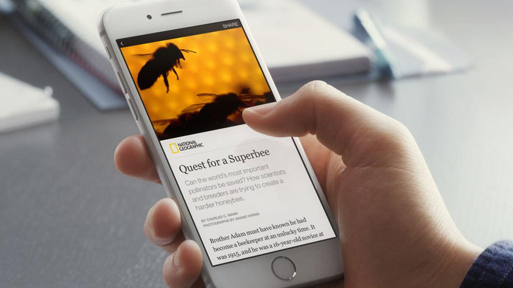 Facebook Instant Articles App