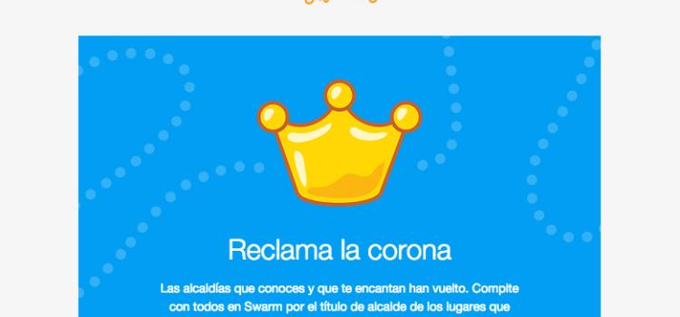 Foursquare resucita las alcaldías en Swarm