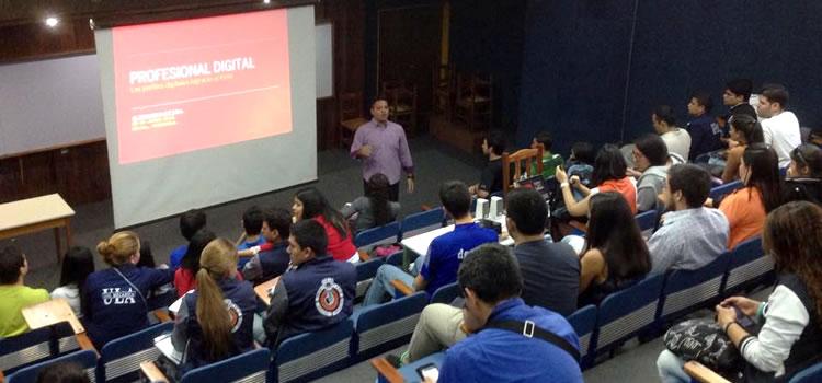 """Ponencia """"El Profesional Digital"""", Jornadas Empresariales ULA"""