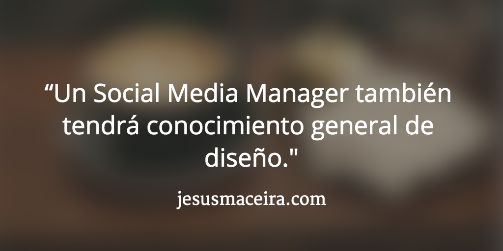 Las competencias del social media manager