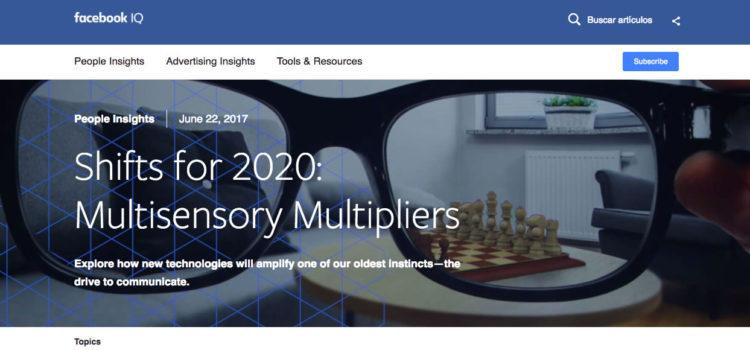 Facebook revela reporte con las tendencias del consumo digital [infografía]