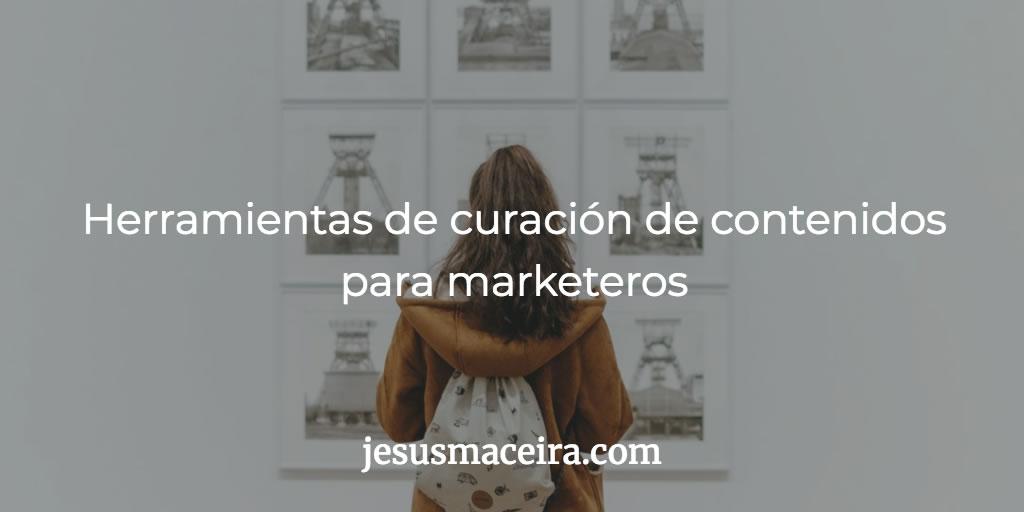 curación de contenidos para profesionales de marketing