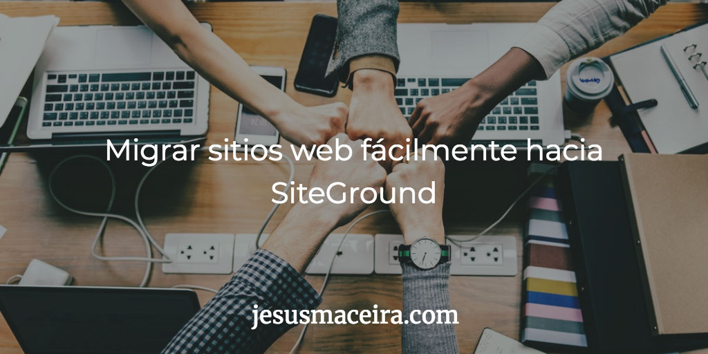 migrar sitios web a SiteGround