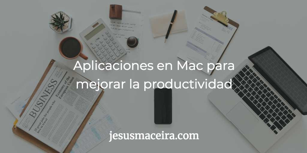 productividad en mac apps
