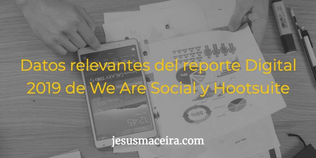 a las redes sociales - digital 2019