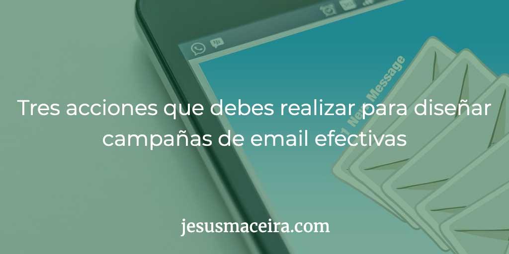 campañas de email